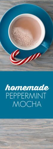 Homemade Peppermint Mocha - so easy and delicious!