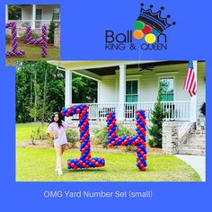 There is nothing like putting a smile on your child's face! During this time our clients want to express their love in an even bigger way and we are always happy to be apart of the celebration! Happy 14th Birthday Emery! Our yard numbers got the job done! Call today and let us help Balloon Your Yard! #balloonkingandqueen #balloonking #balloonqueen #columbiaballoons #columbiaballoondelivery  #bubbleballoon #balloonarch #balloonartist #confettiballoons #balloons🎈 #balloondecoration #birthdayballo Balloon Bouquet Delivery, Balloon Delivery, Bubble Balloons, Confetti Balloons, Number Sets, 14th Birthday, Balloon Arch, Get The Job, Balloon Decorations