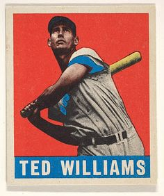 Leaf Gum Company - Ted Williams (1948 - 49)