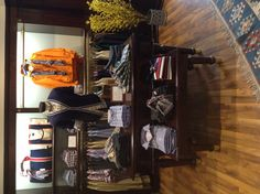 Brooks Brothers in store visual display New Collection Men S/S 2013 at Stadiou boutique Athens Greece