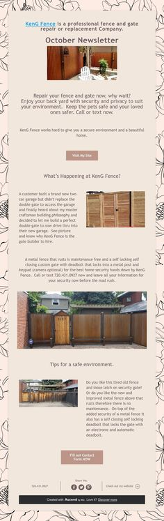 KenG Fence is a professional fence and gate repair or replacement Company. Electronic Deadbolt, Pet Safe, Fence, Gate, Backyard, Patio, Portal, Backyards