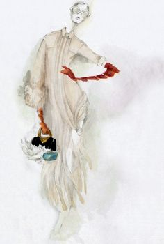 Myrtle Quillamor fashion illustration