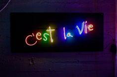 C'est la vie by artist Olivia Steele
