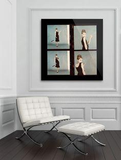 Contact Sheet Art Tropicolor Audrey Hepburn 120 film PlexiFoto in Living Room Contact Sheet, 120 Film, Audrey Hepburn, Photo Art, Flat Screen, Living Room, Flatscreen, Sitting Rooms, Drawing Room