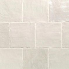Ivy Hill Tile Amagansett White 4 in. x 4 in. 9mm Satin Ceramic Wall Tile (5.38 sq. ft. / box) #bathroomtile