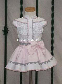 La casita de Mimi Baby Girl Dress Patterns, Baby Dress Design, Lolita Fashion, Girl Fashion, Fashion Outfits, Little Girl Dresses, Girls Dresses, Dress Anak, Dress Collection