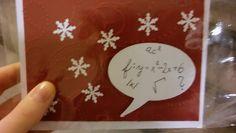 For our math teacher one chrismas card :)   #chrismas #vánoce #card # math #cardforteacher #matematika #přáníčka