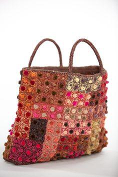 Sophie Digard   Velvet Spot Raffia Bag   Plum Plum, Appreciation, Velvet, Textiles, Construction, Deep, French, Colour, This Or That Questions