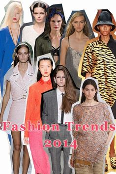 Check out the hottest fashion trends from NYC to Paris to Milan! 2014 Fashion Trends, Spring Colors, Colorful Fashion, What To Wear, Autumn Fashion, Nyc, Style 2014, Color Palettes, Milan