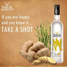 #MagicMoments #Vodka Gingergrass Lemon ....take a #shot