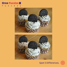Reward yourself a delicious Oreo cookie if you find all 5 #Oreo #Puzzle