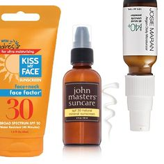 Rank & Style | Top Ten Fashion and Beauty Lists - Natural Facial Sunscreens #rankandstyle