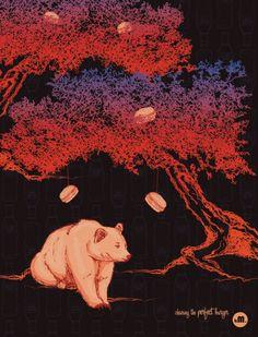 Passe o mouse na imagem para ver detalhes  Arte PERFECT BURGER Artista Karina Matulevicius (kM.)
