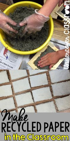 Making recycled paper in the classroom is much easier than you think! Here is an experience that your students will always remember. Read about how it went for one third grade teacher.