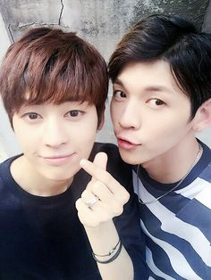 """160712 UP10TION Kogyeol & Kuhn - """" Kuhn Oppa with 'oppa hair' is here. Don't you miss me? """" 