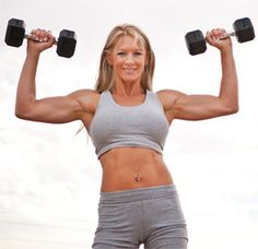 Valarie Sanford shares her exercise and diet tips in her fitness model interview.