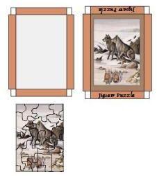 Miniature Printables - Printable dollhouse puzzle - j stam - Picasa webbalbum