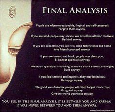 Buddha Quotes On Karma