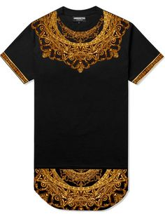 Medallion Yoke Long Tee #UNDERATED #UNDERATEDCO