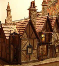 The Leaky Cauldron - doll house miniature