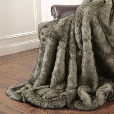 You'll love the Tawny Fox Faux Fur Throw Blanket at Wayfair - Great Deals on all Bed & Bath products with Free Shipping on most stuff, even the big stuff. Heavy Blanket, Faux Fur Blanket, Throw Blanket Size, Faux Fur Throw, Throw Blankets, Fluffy Blankets, Kylie Jenner Room, Tahari Bedding, Black Leather Sofas