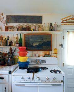 Lua Lua: Detalhes da cozinha ... na placa ..