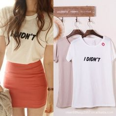 Buy Women's Tops Blouse Shirts Fashion Cotton Round Neck Short Sleeve Long Summer Shirts Ladies Printed Letter T Shirt Free Shipping from Reliable ladies office blouse shirt $11.99