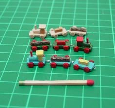 Not a tutorial but great idea for toys for the dollhouse nursery | Source: minicrochetmad