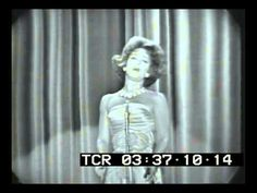 """R.I.P. Patrice Munsel. 5/14/25 - 8/4/16. """"Un bel di"""" from MADAMA BUTTERFLY, 1962 - YouTube"""