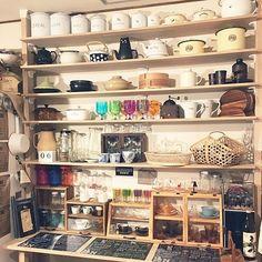 こんな棚が欲しかった!ディアウォール棚活用実例(キッチン編) | RoomClip mag | 暮らしとインテリアのwebマガジン