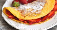 Epres omlett recept: Ez a mennyei epres omlett recept lehet egy szuper reggeli, vagy vacsi is, ami más friss gyümölccsel is elkészíthető. Próbáld ki Te is!