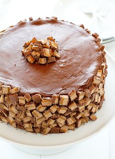 Milky Way Cake! from Sally's Baking Addiction