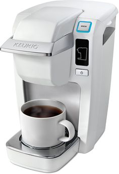 Keurig K10 Mini Plus Brewing System, White -- Trust me, this is great! Click the image. : Coffee Maker