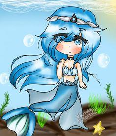 Youtube Minecraft, Minecraft Art, Mermaid Tale, Cute Mermaid, Old Anime, Manga Anime, Aphmau Mermaid, Aphmau Memes, Cute Potato