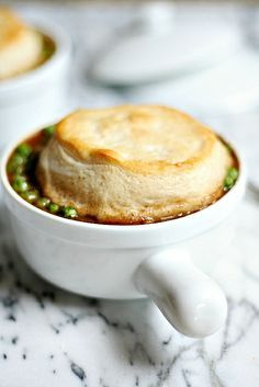 Biscuit topped Beef and Guinness PotPie
