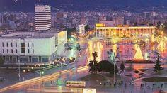 Tirana City | tirana city in the night