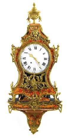 A SWISS ORMOLU-MOUNTED VERNIS MARTIN MUSICAL BRACKET CLOCK, NEUCHATEL, CIRCA 1775