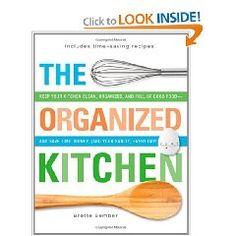 The Organized Kitchen - my newest book!