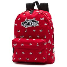 Women's Red Dalmatian Disney Backpack is available now at FansEdge. Vans Backpack Girls, Disney Backpack, Red Backpack, Backpack Bags, Mochila Vans Disney, Disney Vans, Disney Disney, Cute Backpacks, Girl Backpacks