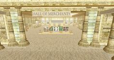 Hall of Merchants at Kitely Welcome Center - photo by Daniel Voyager.