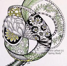 Stunning zentangle
