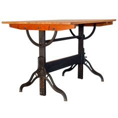 Vintage Drafting Table by Hamilton | From a unique collection of antique and modern desks and writing tables at https://www.1stdibs.com/furniture/tables/desks-writing-tables/