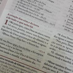 Hoje a gente começa tudo de novo  #leiturabíblica #biblia #genesis1 #igrejasemear #2016anodasmudançasradicais
