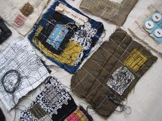 Textile Installation Detail by Katy Devereux - My art, via Flickr