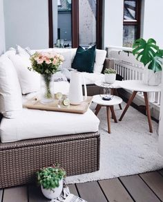 Want to decorate like a pro? The big trick is to make whatever you're styling feel like it's always been there. Outdoor Sofa, Outdoor Furniture Sets, Outdoor Living, Interior Styling, Interior Decorating, Mid Century Chandelier, Mid Century Modern Lighting, Home Decor Lights, Residential Interior Design
