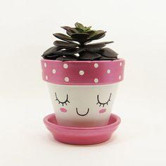 Painted Plant Pots, Painted Flower Pots, Flower Pot Crafts, Clay Pot Crafts, Flower Pot People, Decorated Flower Pots, Terracotta Pots, Clay Pots, Plant Holders