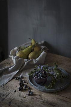 Sabores y Momentos | Crumble de Arándanos, Peras y Moras | http://saboresymomentos.es