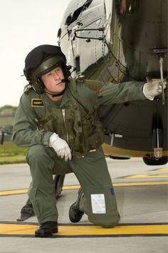 Prince Harry aka Capt. Harry Wales. Hot pilot.