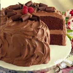 Chocolate Mousse Cake from Eagle Brand® Sweetened Condensed Milk