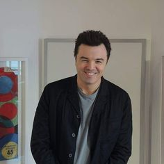 How adorable can this guy get? #sethmacfarlane